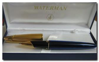Waterman-Edson-Diamond-Black-Pen-Execupawn